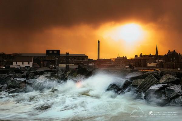 Sunset in Wick Bay