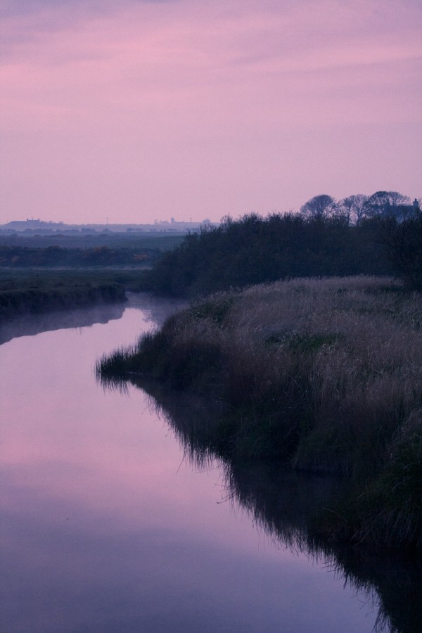 Dusk on Wick River