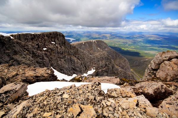 North face of Ben Nevis - Tower Ridge and Carn Dearg buttress