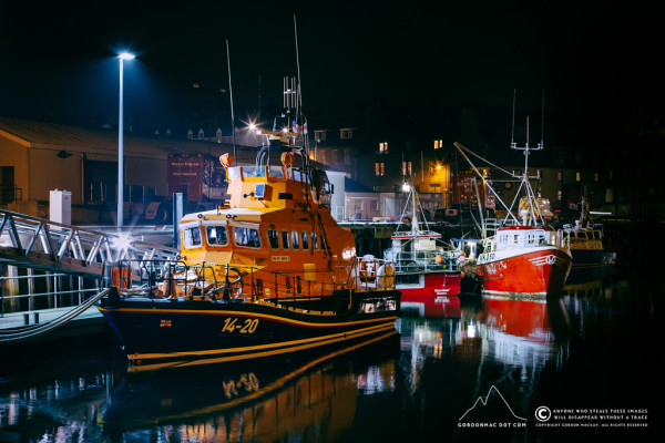 RNLI Lifeboat Roy Barker II - Wick Harbour