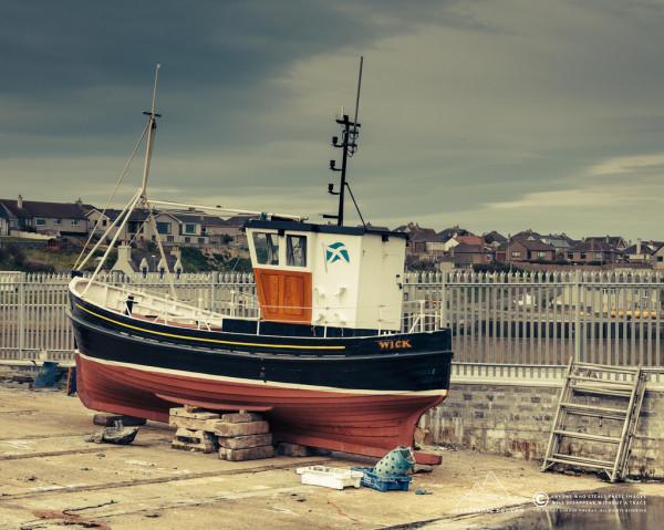 Slipway, Wick Harbour