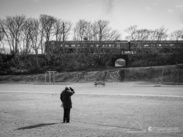 Trainspotting at Wick Riverside park