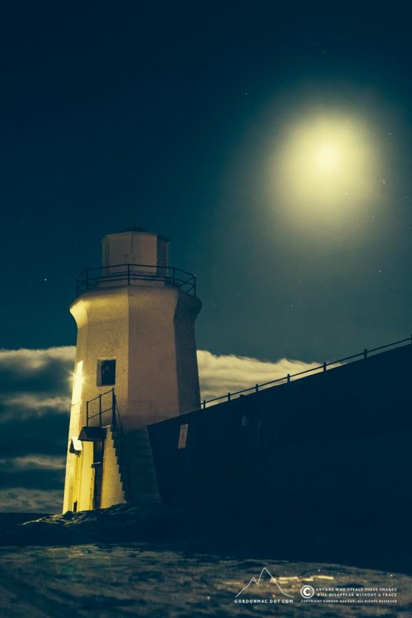 Braw bricht moonlit nicht