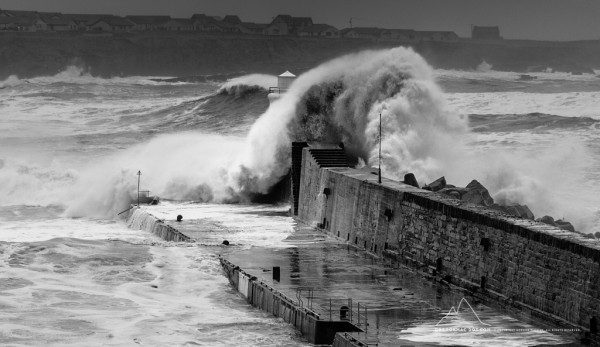 Storm in Wick Bay