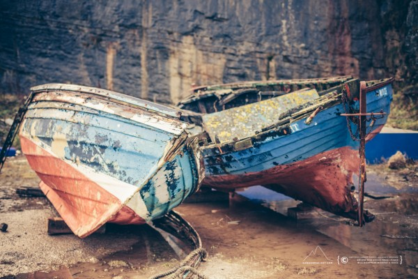 Old Boats at the South Head