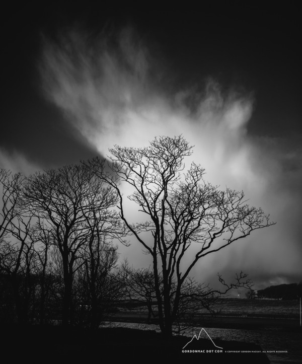 Wintery Clouds at Wick Riverside