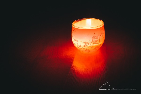 003/365 - Kirsty's Candle