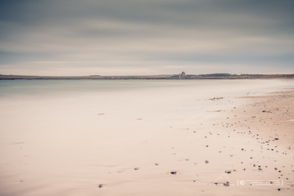Reiss Beach and Ackergill Tower