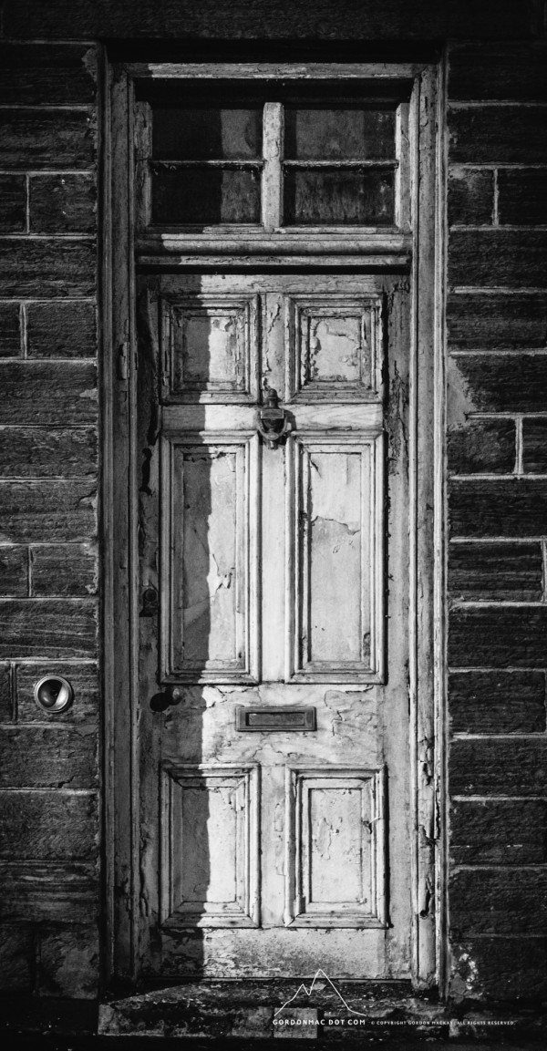 Old door in Union Street