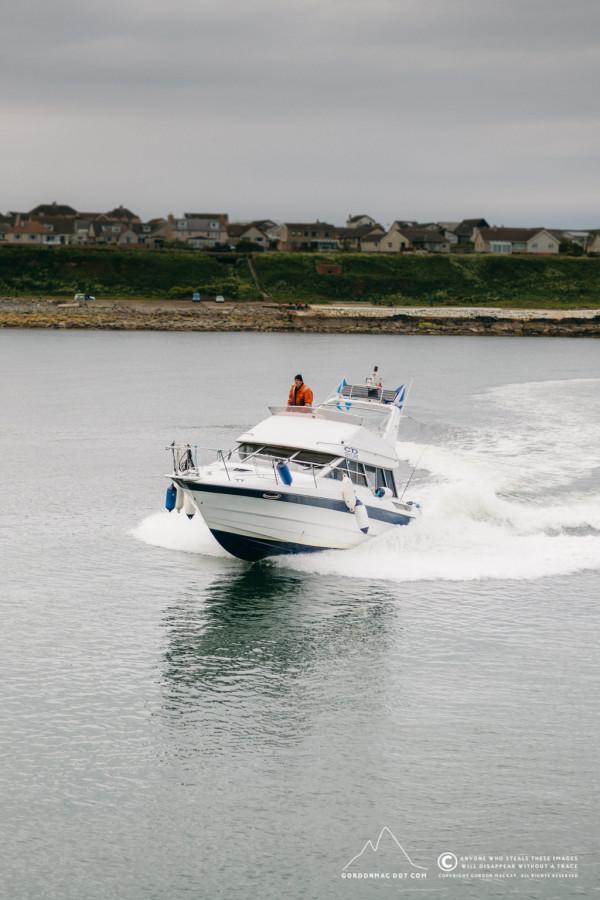 Speedboat, Wick Bay