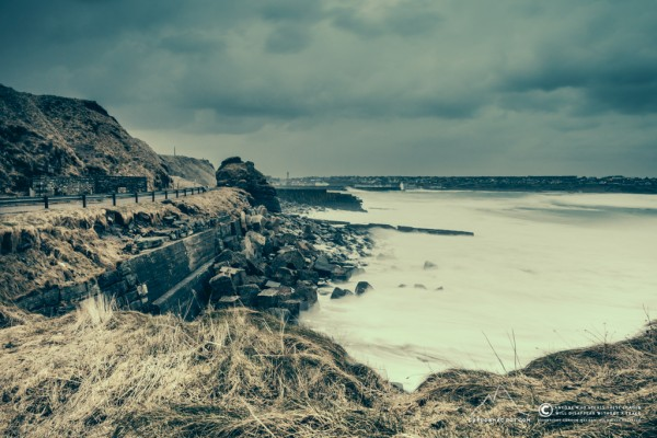 Some stormy weather in Wick Bay