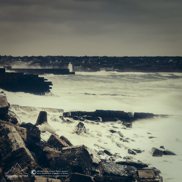 081/365 - I don't get tired of Wick Bay in stormy weather - sorry