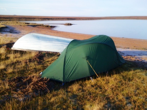 Camping at Loch Calium